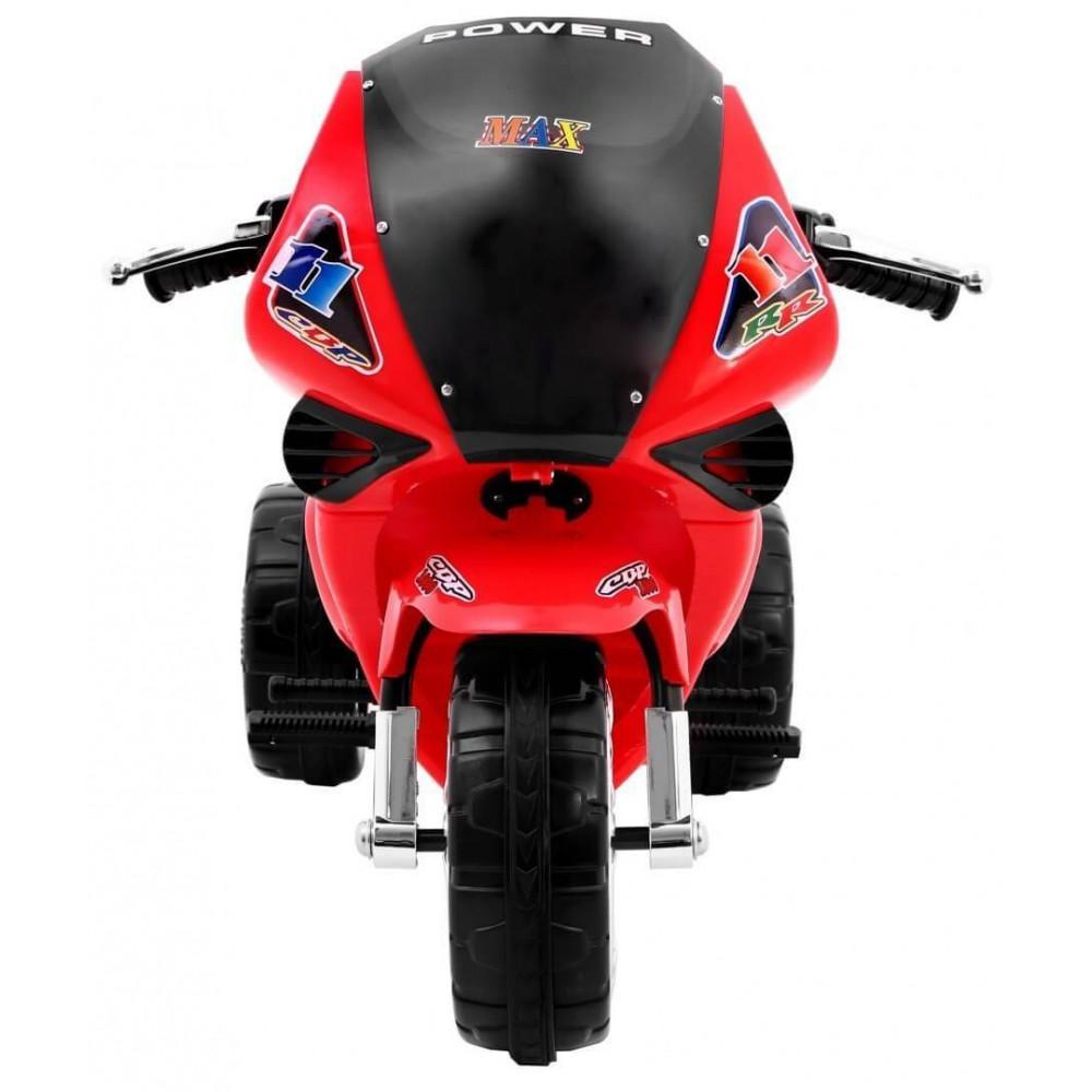 Elektrické motorky - Elektrická motorka RR1000 6V - červená - 3