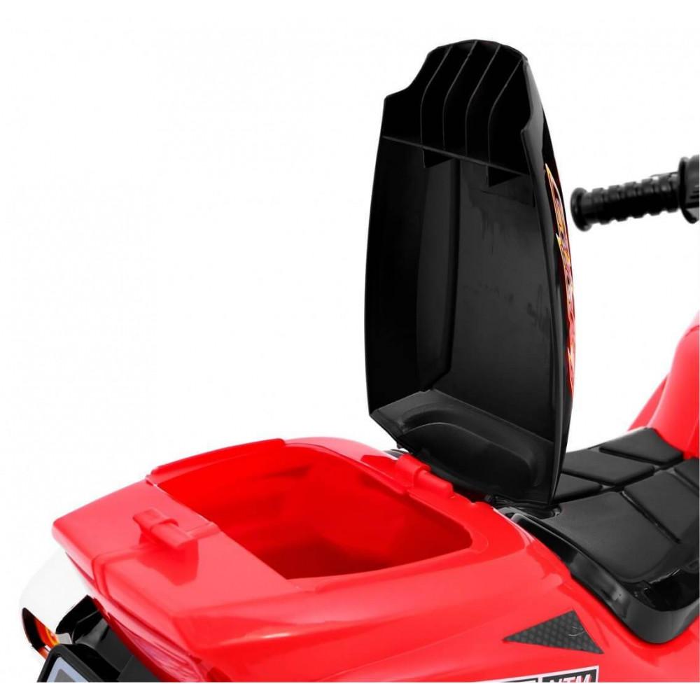Elektrické motorky - Elektrická motorka RR1000 6V - červená - 6