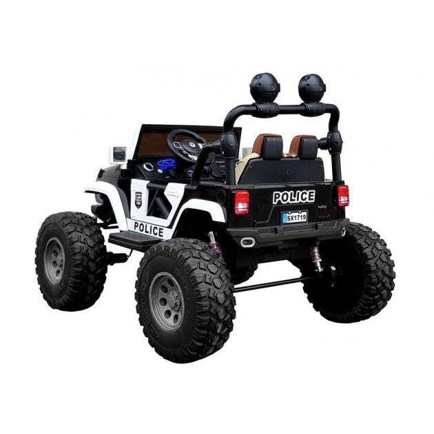 Elektrické autíčka dvojmiestne - Elektrické autíčko Jeep Polícia - 1