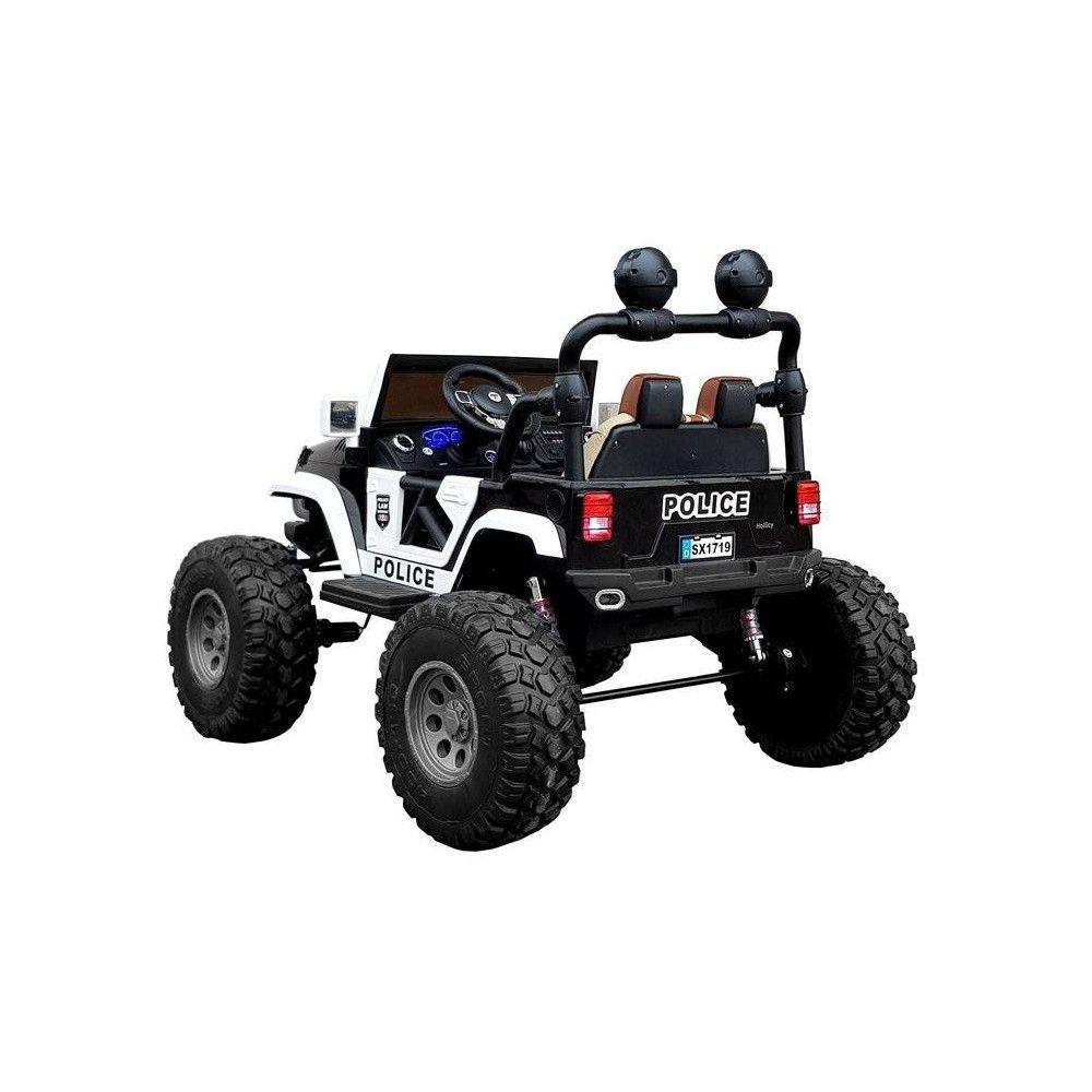 LT Elektrické autíčko Jeep Polícia