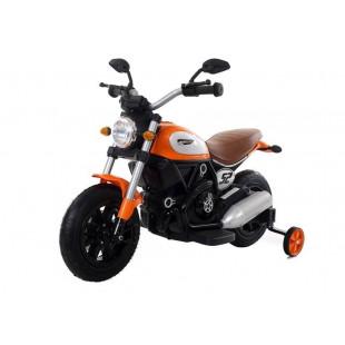 Elektrická motorka Harley QK307 - oranžová