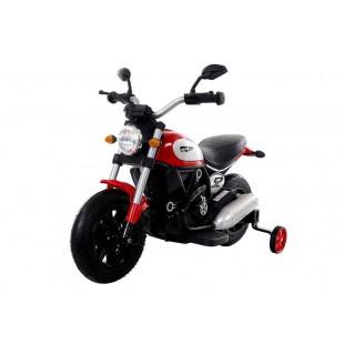 Elektrická motorka Harley QK307 - červená