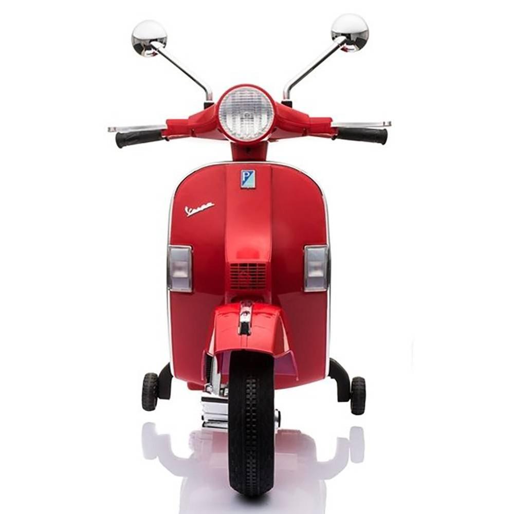 Elektrické motorky - Elektrická motorka Vespa - červená - 5