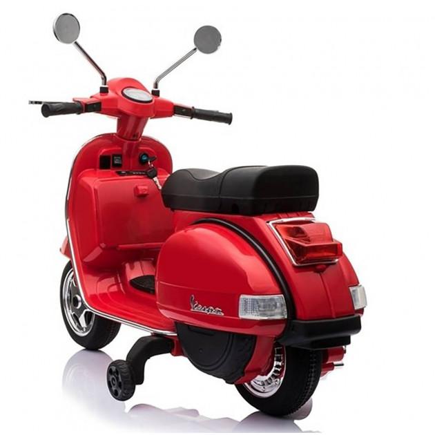 Elektrické motorky - Elektrická motorka Vespa - červená - 1