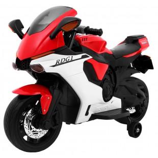 Elektrické motorky - Elektrická motorka R1 SUPERBIKE - červená - 2