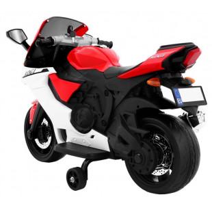Elektrické motorky - Elektrická motorka R1 SUPERBIKE - červená - 1