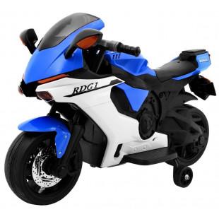 Elektrická motorka R1 SUPERBIKE - modrá