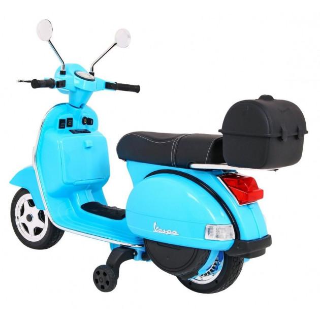 Elektrické motorky - Elektrická motorka Vespa - modrá - 1