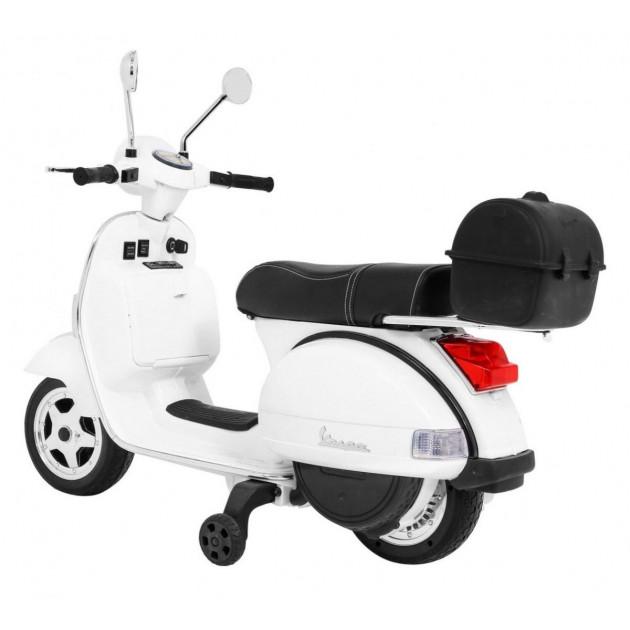 Elektrické motorky - Elektrická motorka Vespa - biela - 1