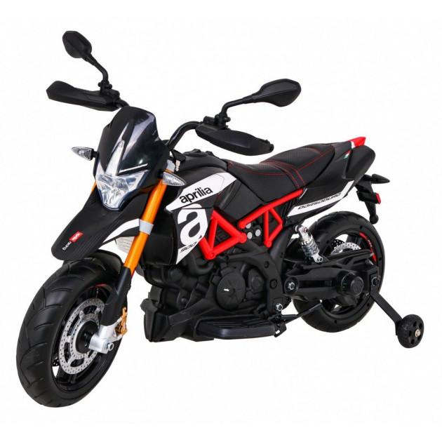 Elektrická motorka APRILIA A007 - čierna