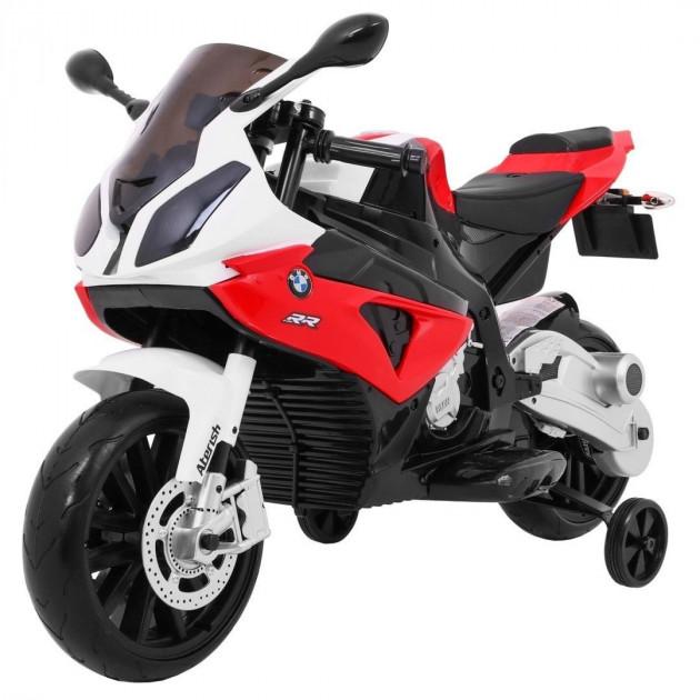 Elektrická motorka BMW S1000 RR - červená