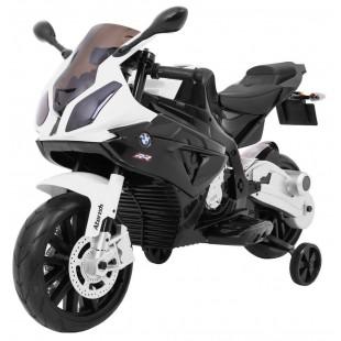 Elektrická motorka BMW S1000 RR - čierna