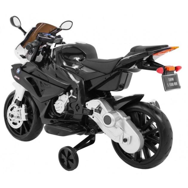 Elektrické motorky - Elektrická motorka BMW S1000 RR - čierna - 1