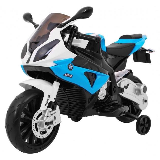 Elektrická motorka BMW S1000 RR - modrá