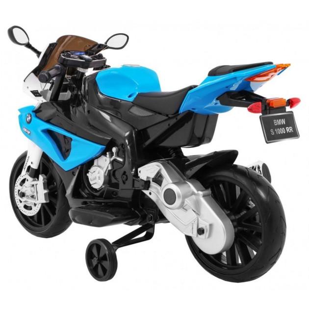 Elektrické motorky - Elektrická motorka BMW S1000 RR - modrá - 1