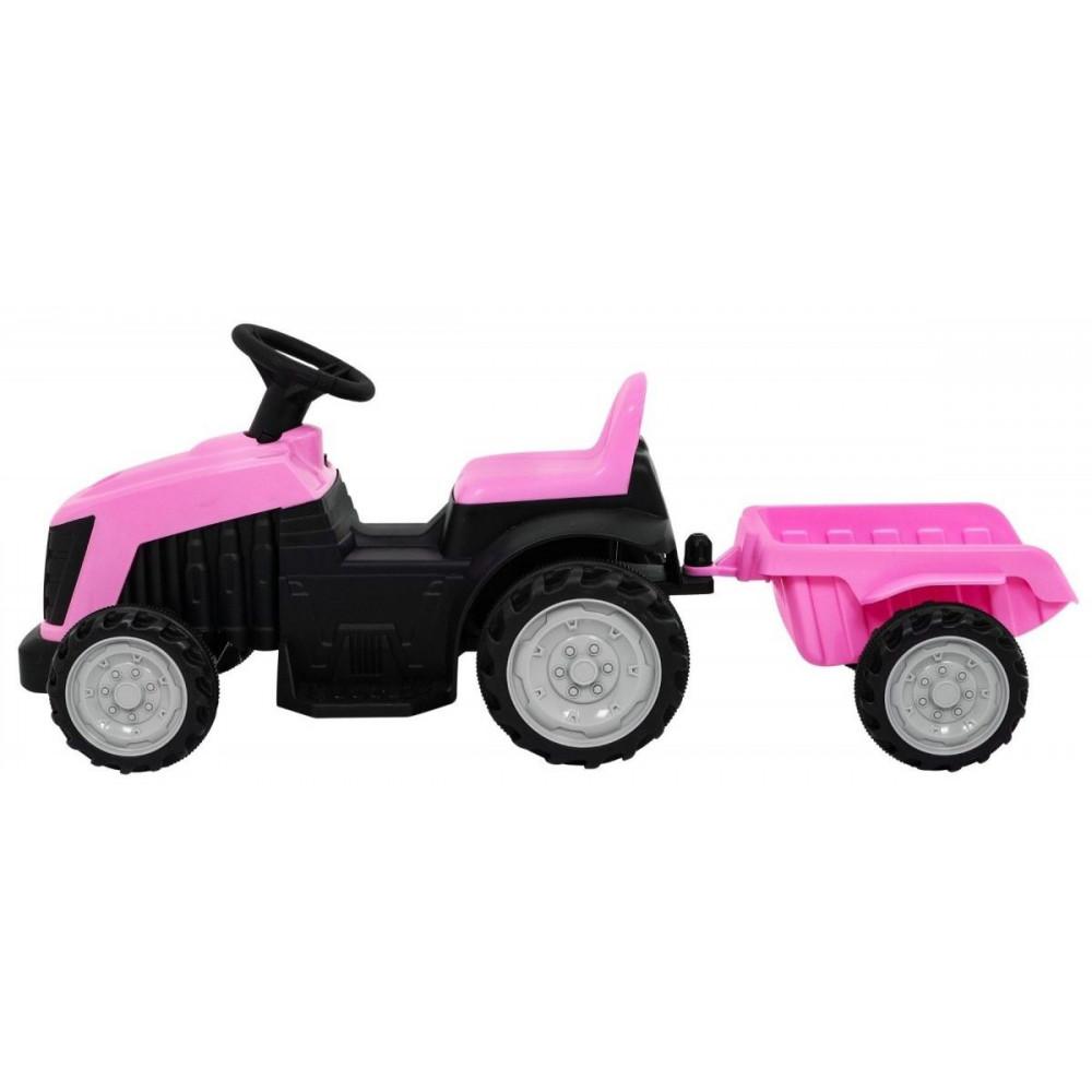 JBM Elektrický traktor pre deti s prívesom 6V