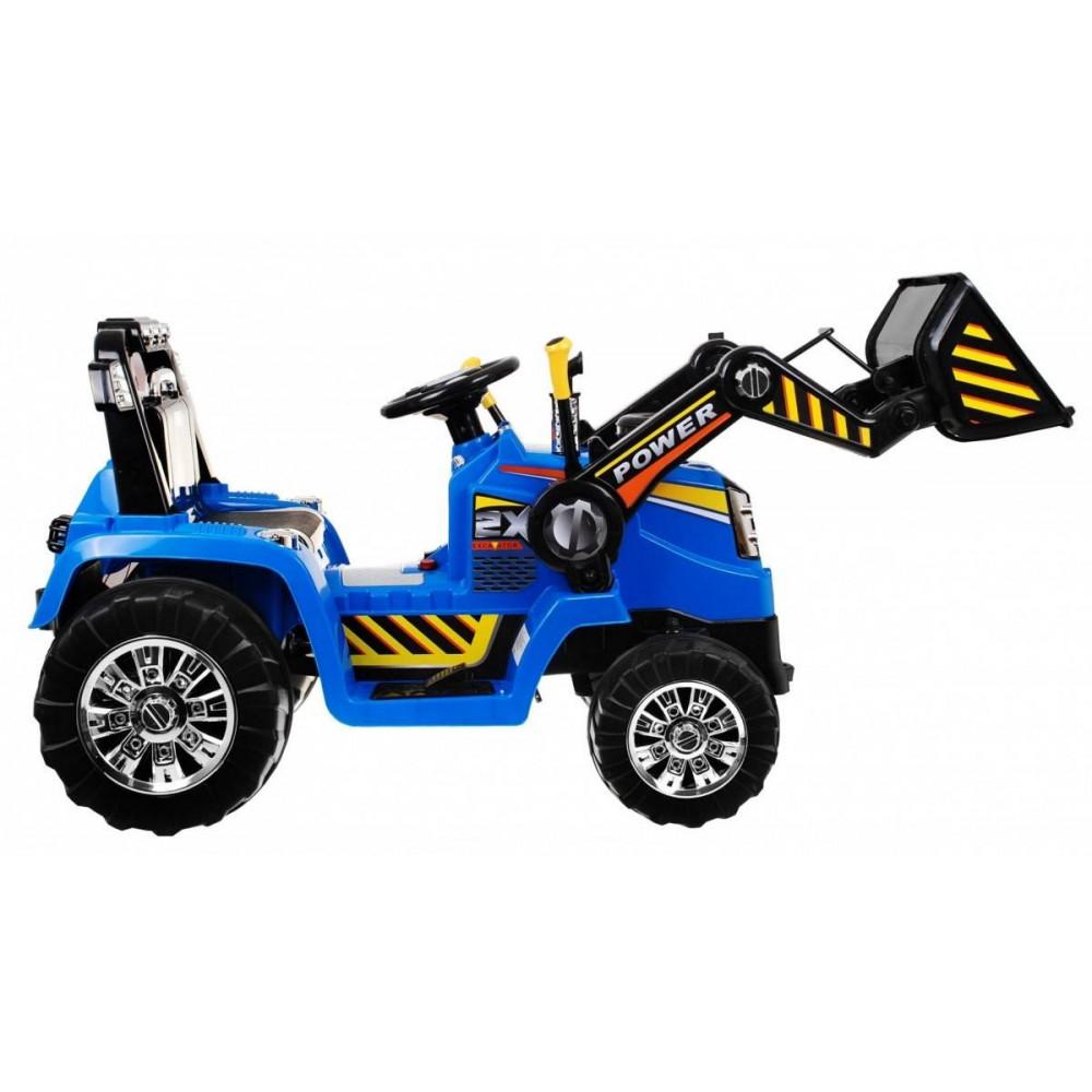 JBM Elektrický traktor pre deti s radlicou 12V