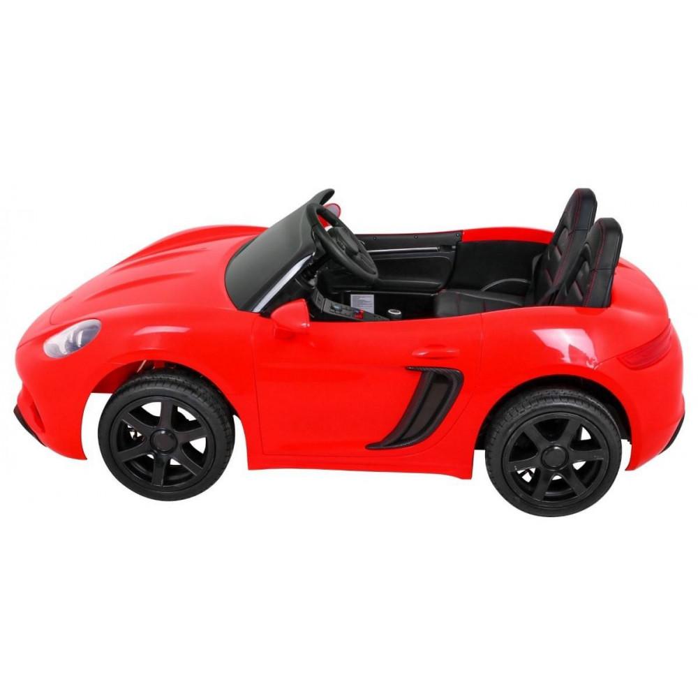 Elektrické autíčka dvojmiestne - Elektricke autíčko Super Sport XL - červená - 4