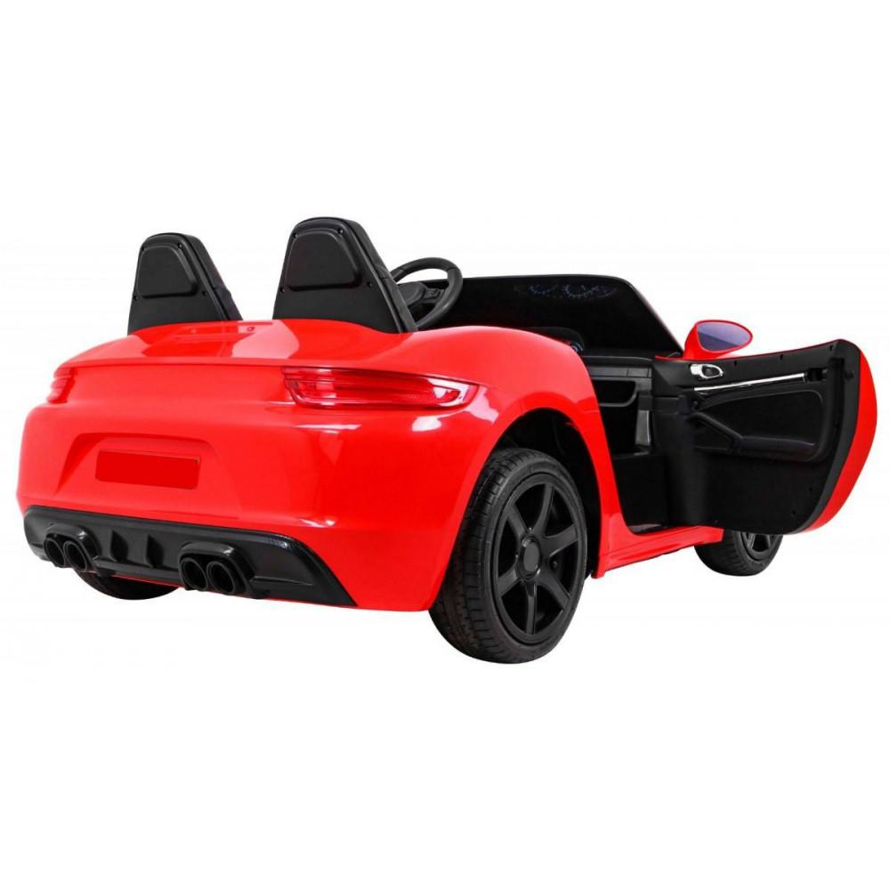 Elektrické autíčka dvojmiestne - Elektricke autíčko Super Sport XL - červená - 5