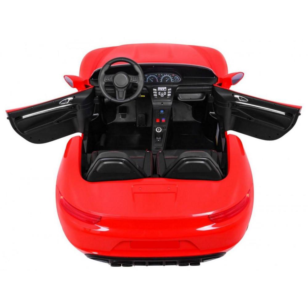 Elektrické autíčka dvojmiestne - Elektricke autíčko Super Sport XL - červená - 6