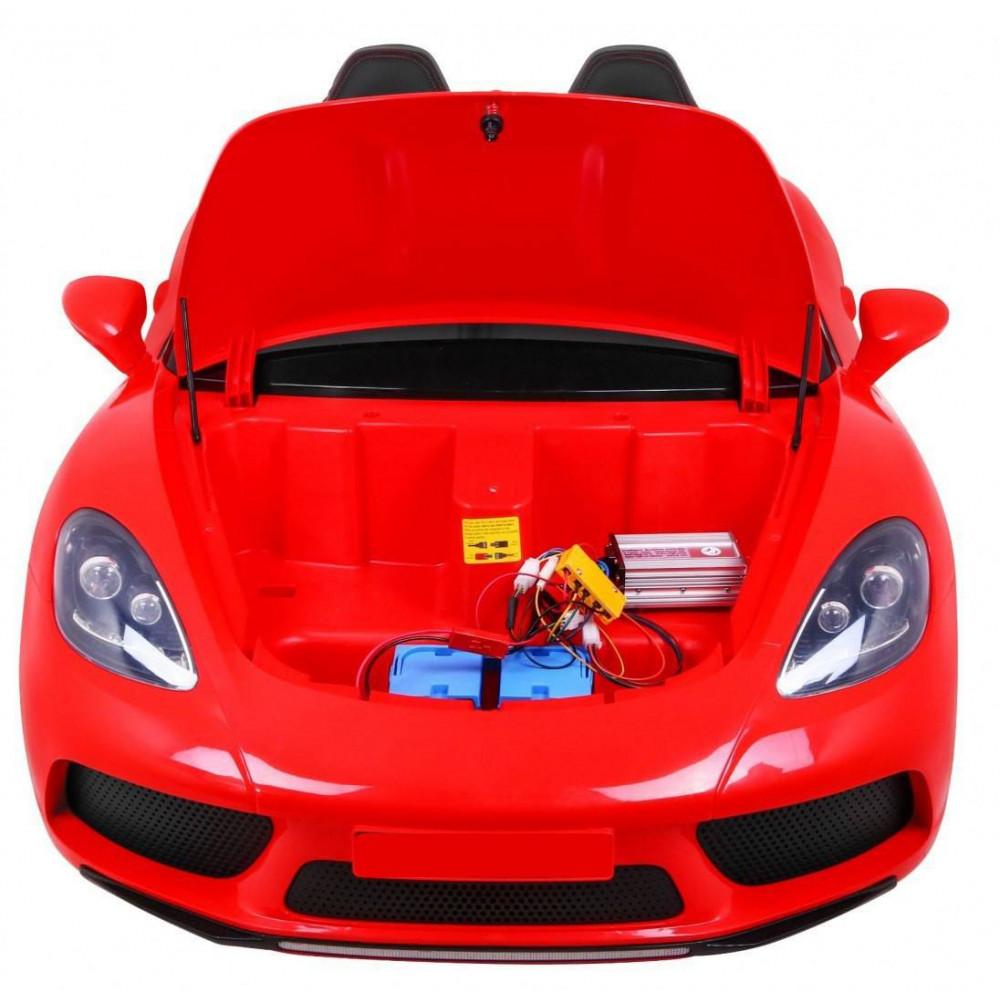 Elektrické autíčka dvojmiestne - Elektricke autíčko Super Sport XL - červená - 10