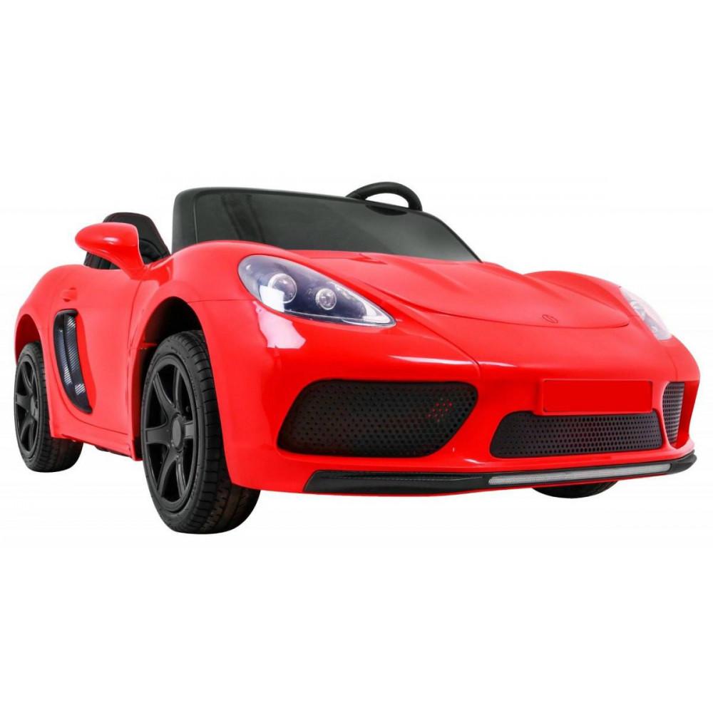Elektrické autíčka dvojmiestne - Elektricke autíčko Super Sport XL - červená - 9