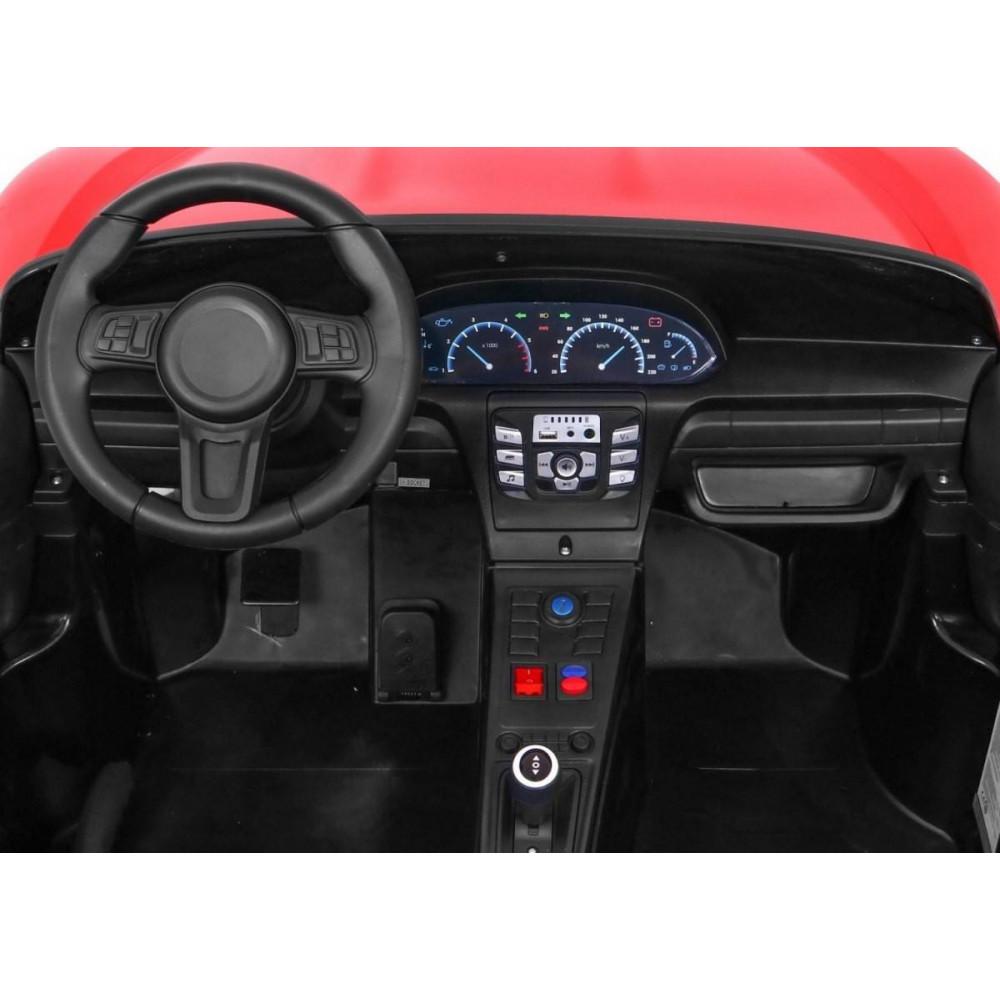 Elektrické autíčka dvojmiestne - Elektricke autíčko Super Sport XL - červená - 14