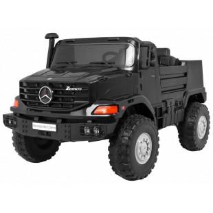 Elektrické autíčko Mercedes Zetros - čierne