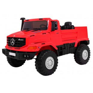 Elektrické autíčko Mercedes Zetros - červené
