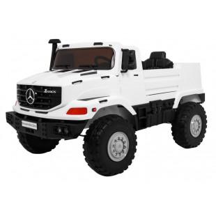 Elektrické autíčko Mercedes Zetros - biele
