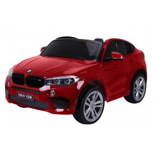 Elektrické autíčko BMW X6M LUX - červená lak
