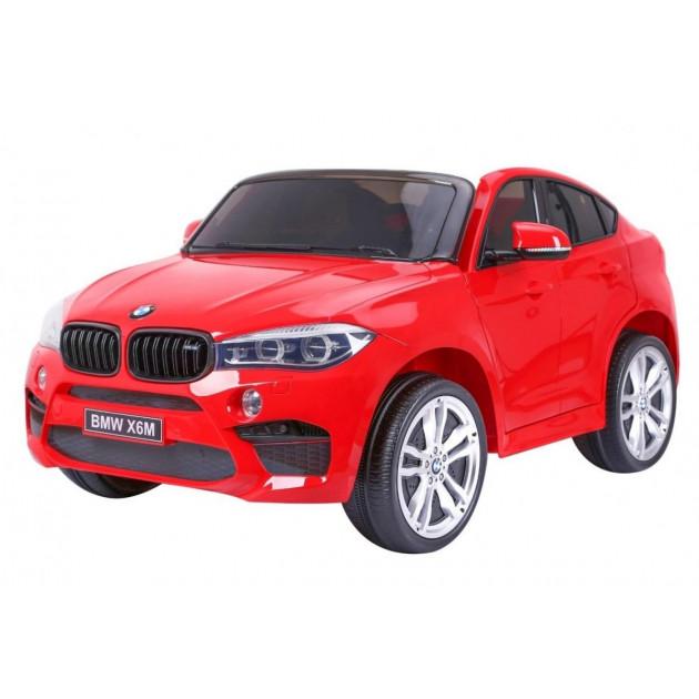 Elektrické autíčko BMW X6M LUX - červené