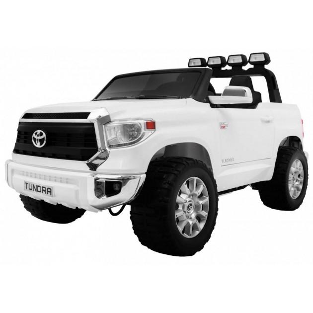 Elektrické autíčka dvojmiestne - Elektrické autíčko Toyota Tundra XXXL - biela - 2