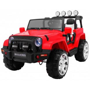 Elektrické autíčko JEEP WRANGLER II - červená