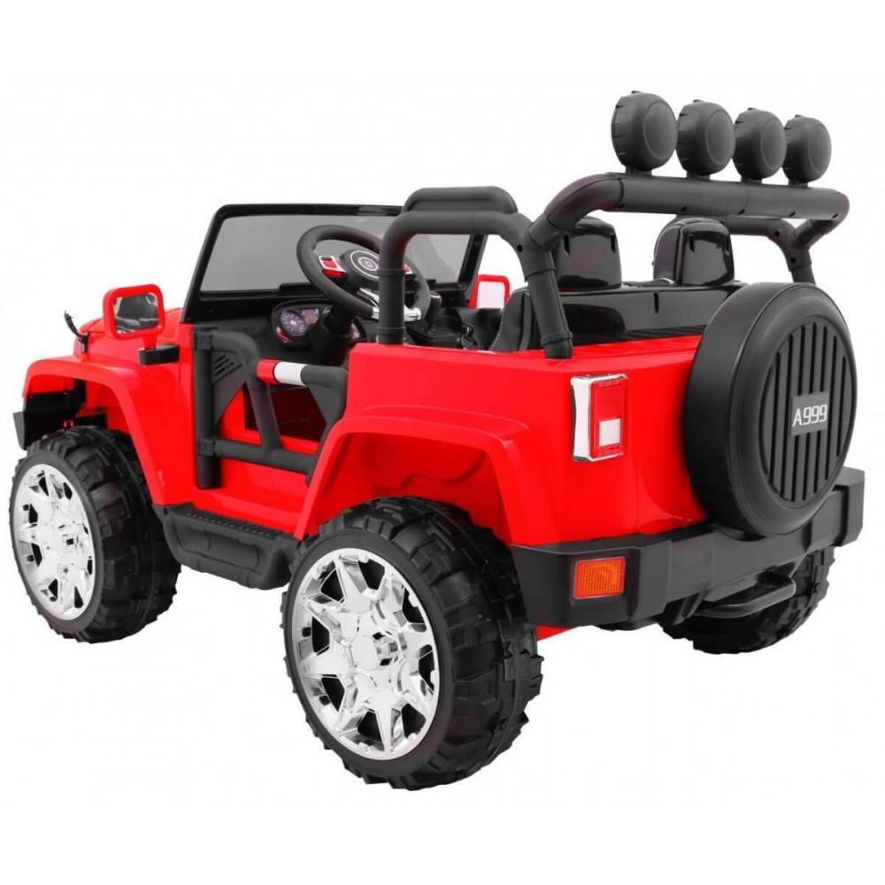 JBM Elektrické autíčko JEEP WRANGLER II 4X4 DVOJMIESTNE