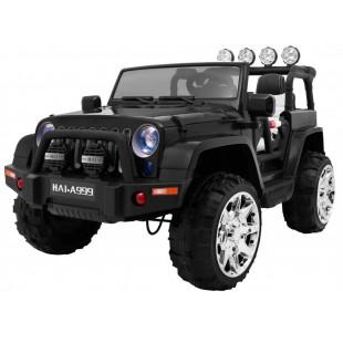 Elektrické autíčko JEEP WRANGLER II - čierna
