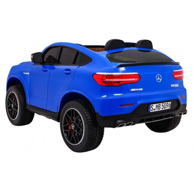 Elektrické autíčka 4x4 - Elektrické autíčko Mercedes GLC 63S - modrá - 1