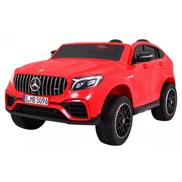 Elektrické autíčka 4x4 - Elektrické autíčko Mercedes GLC 63S - červená - 2