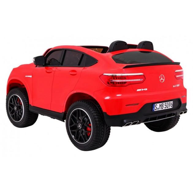 Elektrické autíčka 4x4 - Elektrické autíčko Mercedes GLC 63S - červená - 1