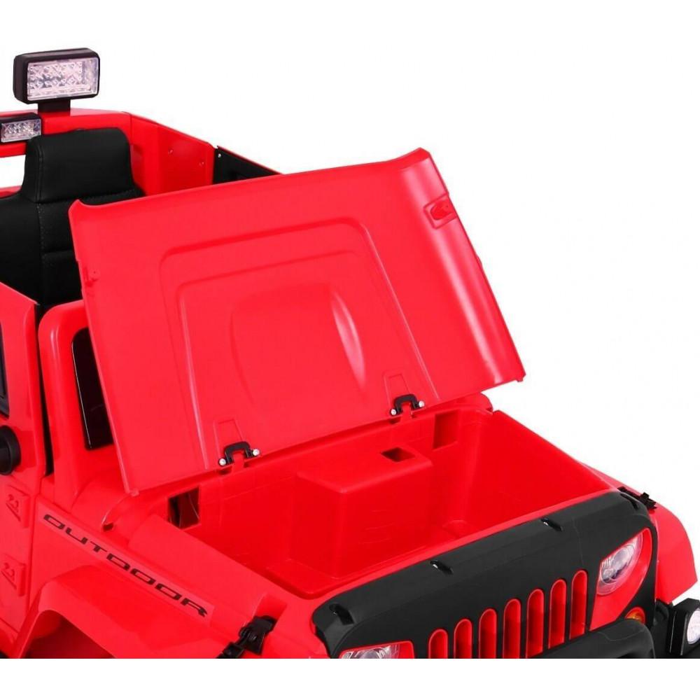 JBM Elektrické autíčko JEEP Monster 4x4