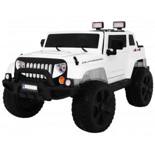 Elektrické autíčko JEEP Monster - biela