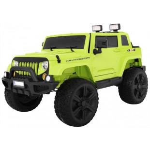 Elektrické autíčko JEEP Monster - zelená