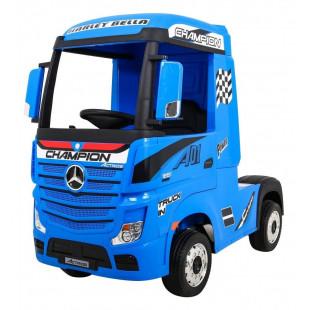 Elektrické autíčko Mercedes Benz Actros - modrá