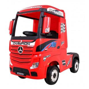 Elektrické autíčko Mercedes Benz Actros - červená