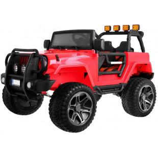 Elektrické autíčko Jeep Wrangler Big - červená