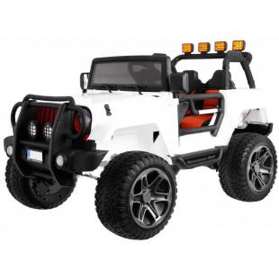 Elektrické autíčko Jeep Wrangler Big - biela