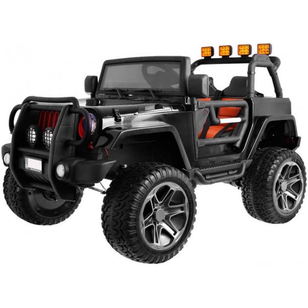 Elektrické autíčka 4x4 - Elektrické autíčko Jeep Wrangler Big - čierna - 2