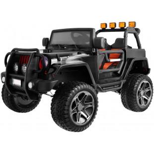 Elektrické autíčko Jeep Wrangler Big - čierna
