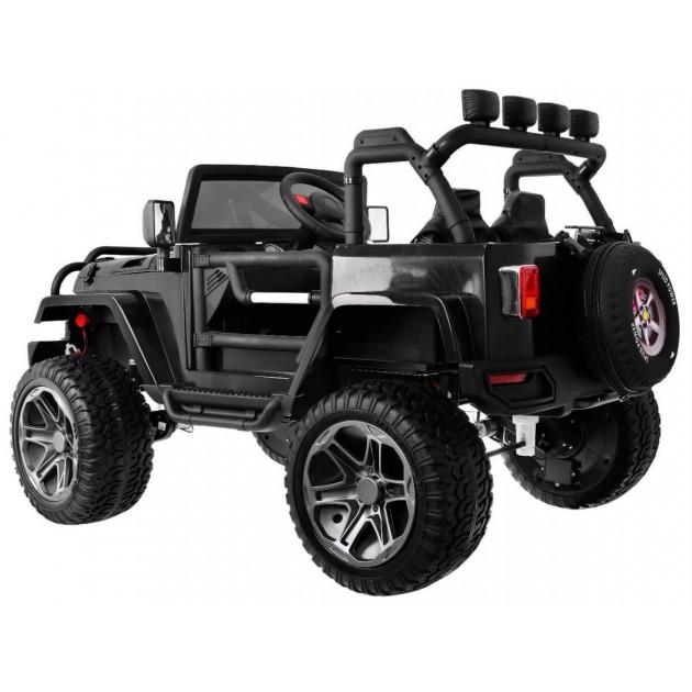 Elektrické autíčka 4x4 - Elektrické autíčko Jeep Wrangler Big - čierna - 1