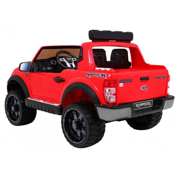 Elektrické autíčka licencované - Elektrické autíčko Ford Ranger Raptor - červená - 1